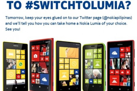 Nokia Is Giving Away Lumia Phones (Today Only); Head Over To Twitter & Find Out How!