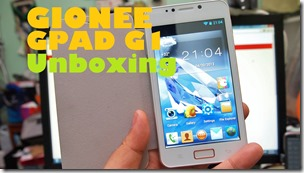 gioneegpadg1unboxing