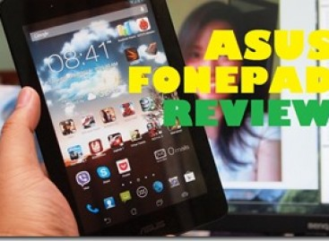 Asus Fonepad Review–Phone-Capable Droid Tablet Powered By Intel Atom For PHP 15k
