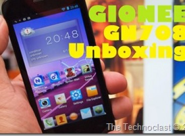 Gionee GN708 Unboxing–Quad-Core Android With qHD Screen & Extra Accessories For 12k