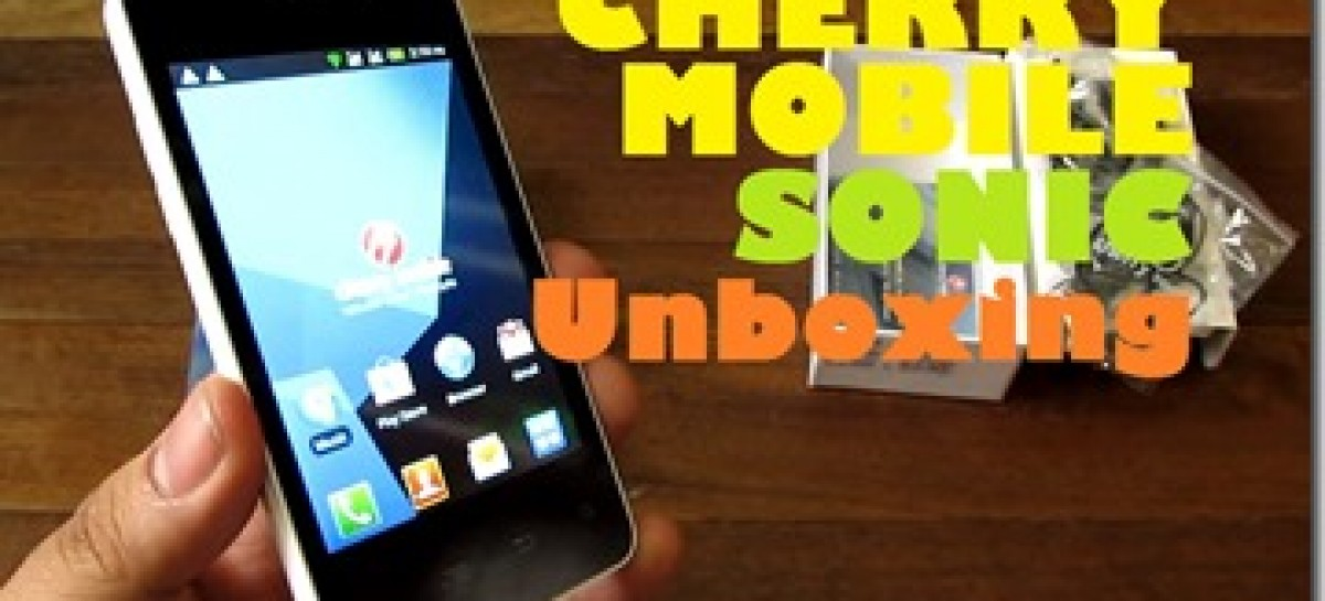 """Cherry Mobile Sonic Unboxing–Single-Core Android Phone With 4.0"""" Screen For PHP 3k"""