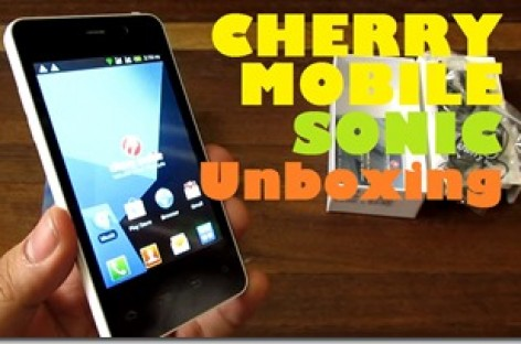 "Cherry Mobile Sonic Unboxing–Single-Core Android Phone With 4.0"" Screen For PHP 3k"