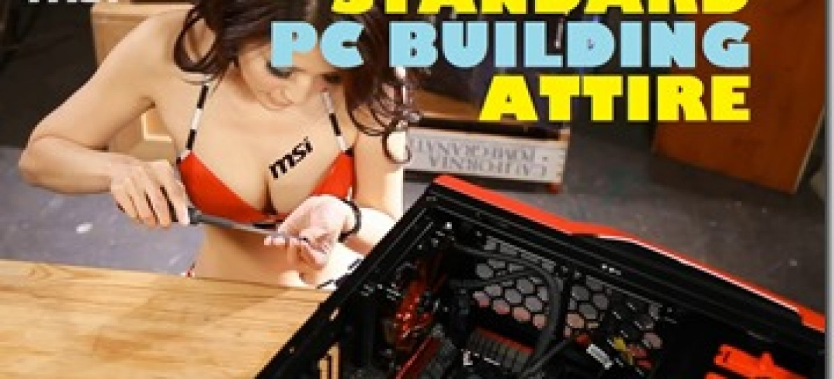"MSI Wants To Uhh ""Empower"" More Women To Build Gaming PCs! Yup, Nailed It."
