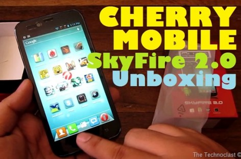 "Cherry Mobile SkyFire 2.0 Unboxing–Quad-Core Android With 5.0"" IPS Screen For PHP 8k"