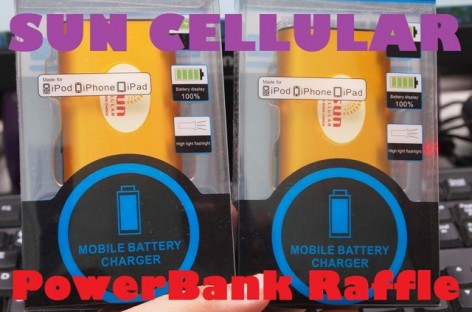 Raffle Announcement! Win A Sun Cellular Power Bank For Your Charging Needs