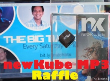 Raffle Announcement! Win A newKube MP3 Player For Your Portable Entertainment!