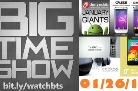 BTS 1/26/2013–O+ 8.9, Cookoo Watch, Cherry Omega, Cruize, & More! (Catch Up Episode)