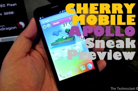 "Cherry Mobile Apollo Sneak Preview–Quad-Core Droid With 4.5"" HD Screen For Only P7k"
