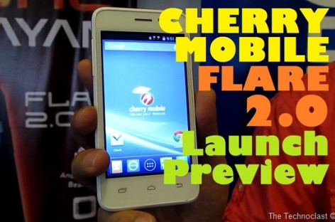 Cherry Mobile Launches Flare 2.0–Most Affordable Quad-Core Device For Only PHP 4k