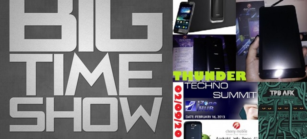BTS 2/9/2013–Cherry Mobile Thunder / Titan TV, Gameloft Contest, & More! (Catch Up Ep)