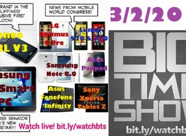 BTS 3/2/2013 – Gionee CTRL V3, Samsung ATIV Smart PC, & MWC News (Catch Up Ep)