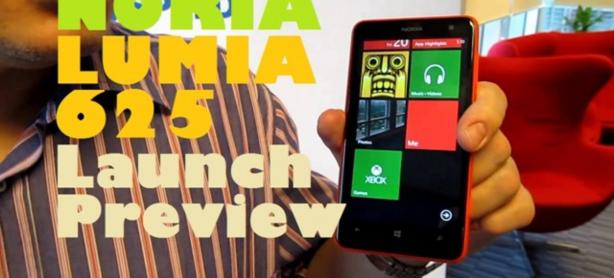 Nokia Lumia 625 Launch Preview–Colorful Large Screen WP8 With LTE For PHP 13,200