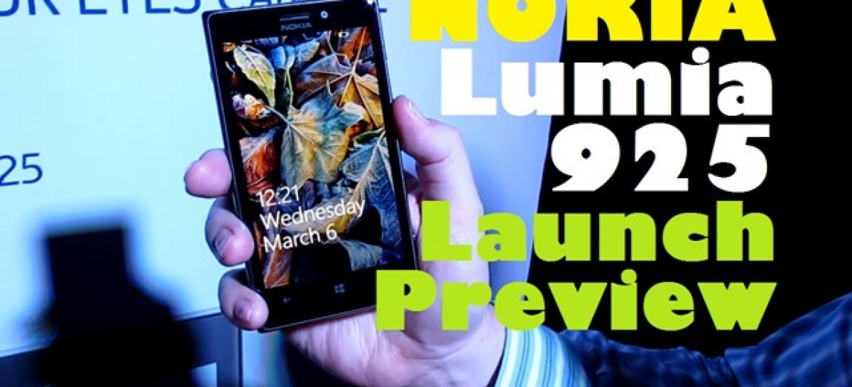 Nokia Lumia 925 Launch Preview–Aluminum -Built WP8 With PureView Camera For P23.5k