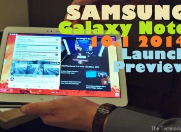 "Samsung Galaxy Note 10.1 2014 Launch Preview–10.1"" Octo-Core Tablet For PHP 26k"