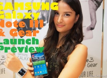 Samsung Launches Flagship Phablet Galaxy Note 3 & Galaxy Gear Connected Watch