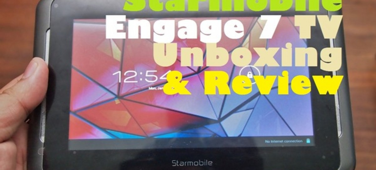 Starmobile Engage 7 TV Review–Analog & Digital TV Capable Tablet For PHP 5,290