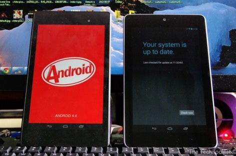 OTA Android 4.4 KitKat Update For Nexus 7 2013 Is Rolling Out; Screenshots Inside!