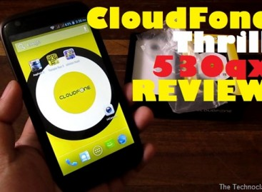 "CloudFone Thrill 530qx Review–5.3"" Quad-Core With Huge 4,500mAh Battery For P10k"