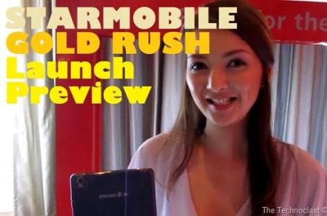 Starmobile Gold Rush–12 New Androids With Premium Aluminum Build & Large Displays