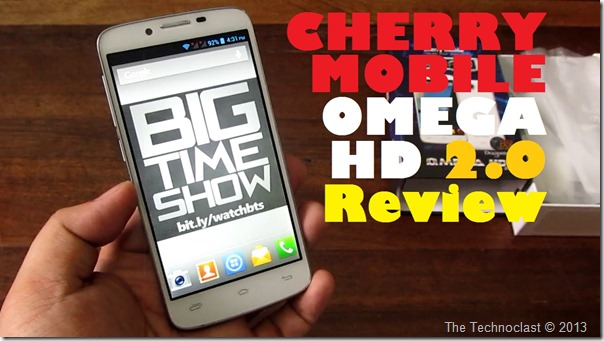 CherryMobileOmegaHD20Review