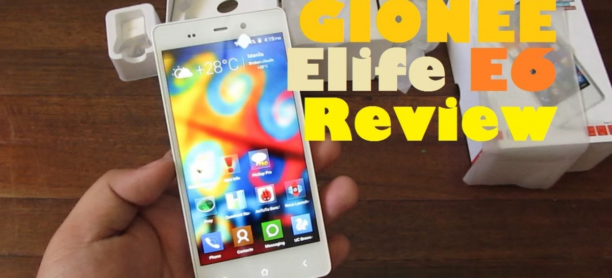 Gionee Elife E6 Review–Premium Quad-Core FullHD Device With Amigo UI For PHP 18,999
