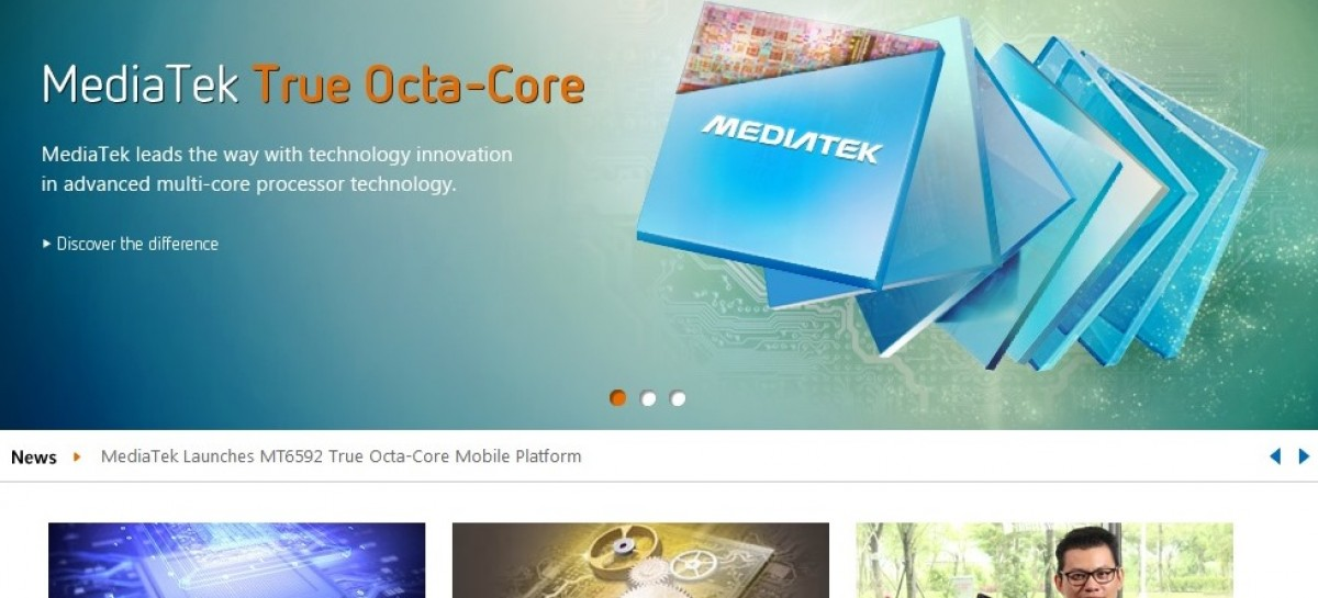 LTE-Capable MediaTek 6595 Octa-Core Processor Coming This January 2014