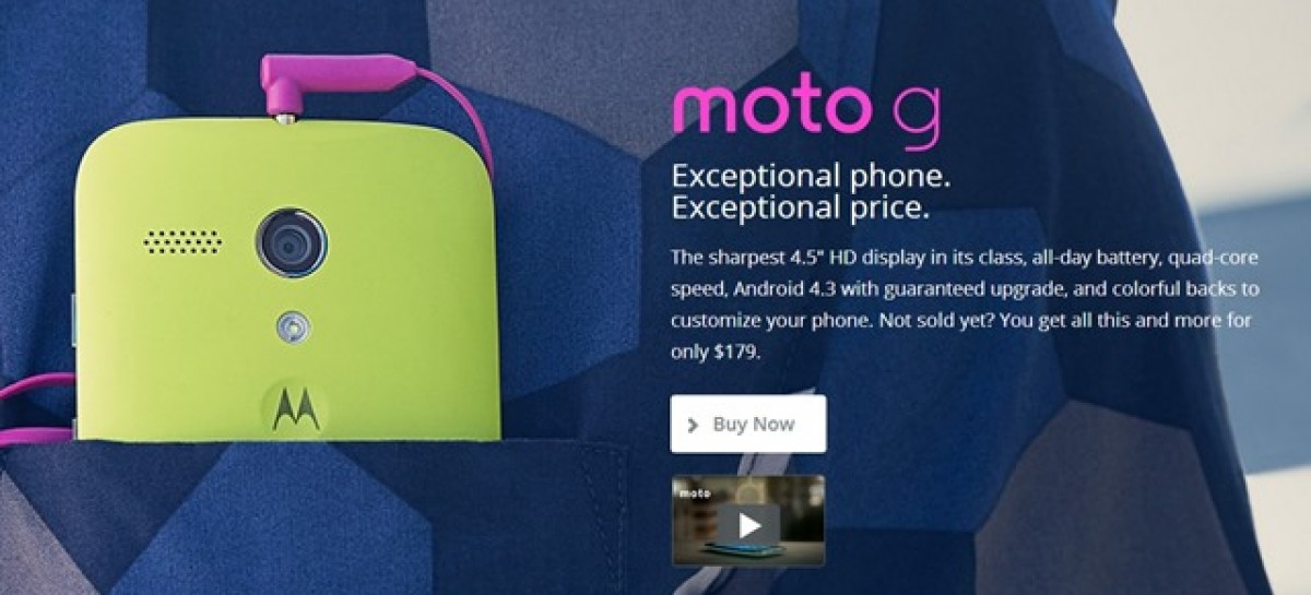 DBGadgets Begins Offering 8GB Quad-Core Moto G For PHP 13.5k–Available December 20