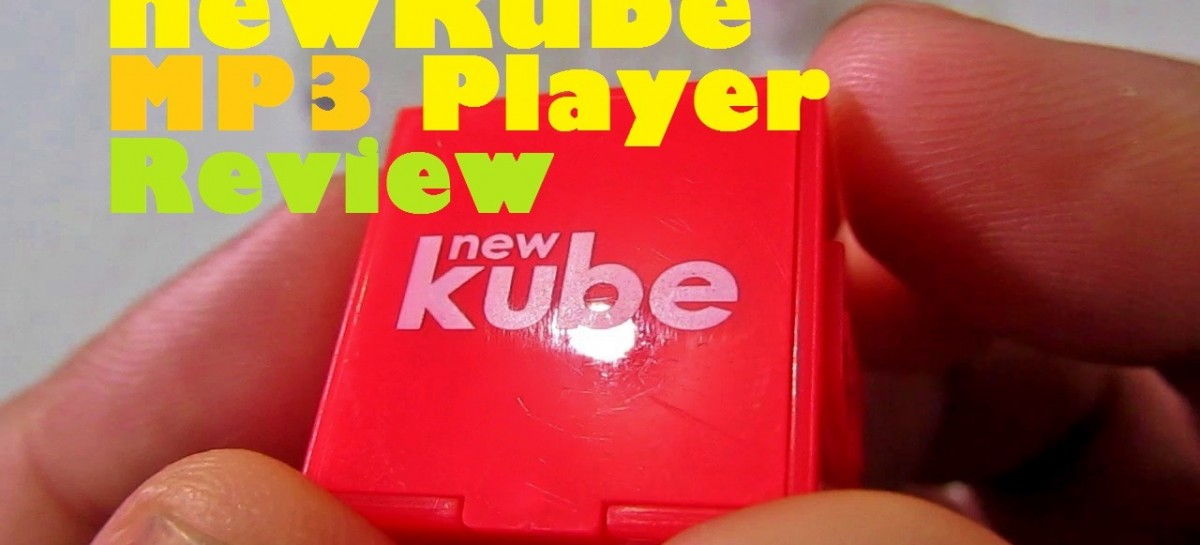 newKube MP3 Player Review–Small & Light Music Player With 6 Hour Battery For PHP 1.6k