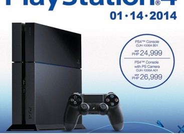 Sony Philippines Will Launch PlayStation 4 Officially On January 14–Preorders Open Now