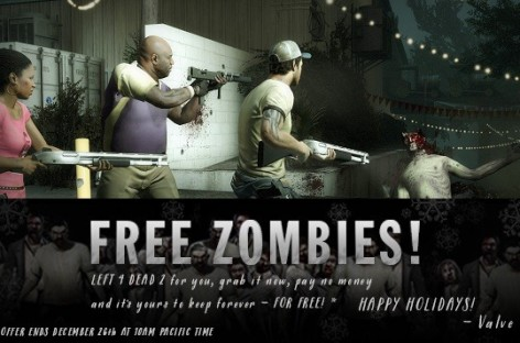 Valve's Left 4 Dead 2 Is Free For One Day–Get It Now And You Can Keep It Forever Too