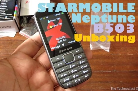 Starmobile Neptune B503 Unboxing–Best Mobile TV Capable Feature Phone For PHP 1k