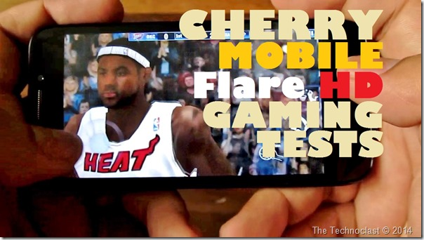 CherryMobileFlareHDGamingTests