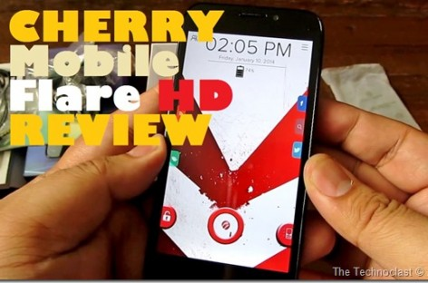 Cherry Mobile Flare HD Review–Quad-Core With HD Display & 12MP Camera For PHP 5.5k