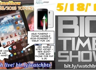 BTS 5/18/2013–Asus Fonepad, Arc Mobile Nitro 450QD, Google I/O 2013 (Catch Up Ep)