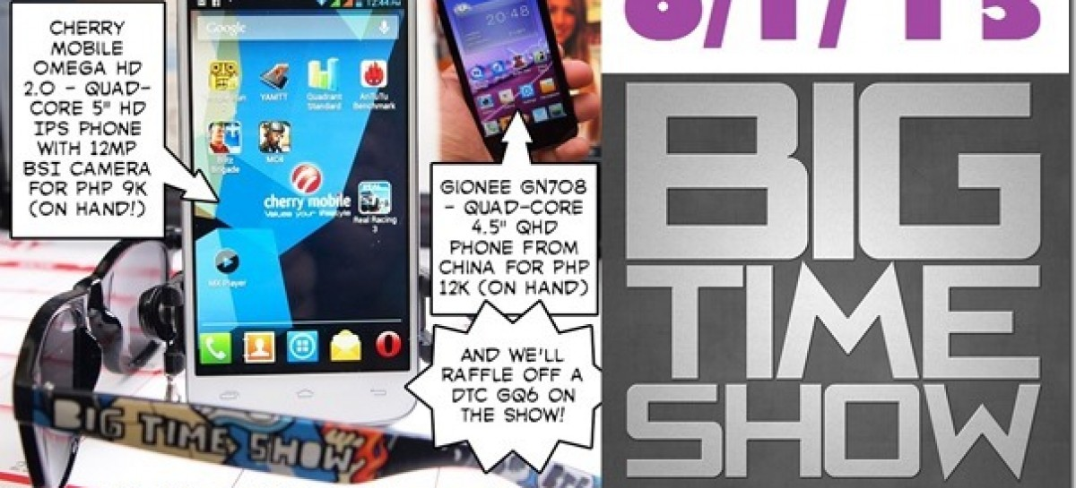 BTS 6/1/2013–CM Omega HD 2.0, Gionee GN708, New Starmobile Phones (Catch Up Ep)