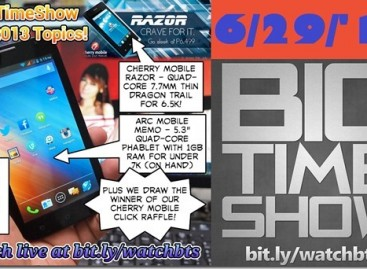BTS 6/29/2013–Arc Mobile Memo, Nitro 350, CM Razor & Click Raffle Winner (Catch Up Ep)
