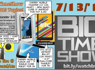 BTS 7/13/2013–Cherry Mobile Thunder 2.0, DTC GT10, Spark TV Raffle Draw (Catch Up Ep)