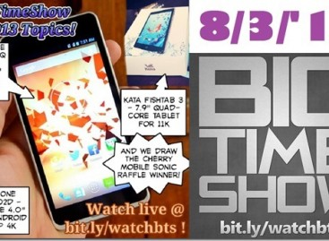 BTS 8/3/2013–Cloudfone Thrill 450q, Excite 402d, Kata Fishtab 3 (Catch Up Ep)