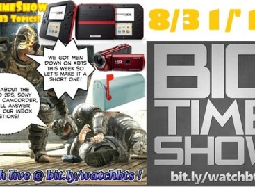 BTS 8/31/2013–Reader Mailbag, Nintendo 2DS, Sony Projector Cam (Catch Up Ep)