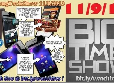 BTS 11/9/2013–Nexus 5, Starmobile Diamond D1, Cherry Mobile Cosmos Z & S (Catch Up Ep)