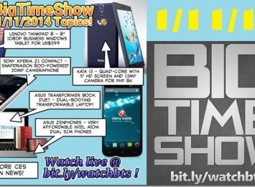 BTS 1/11/2014–CM Omega XL, Kata i3, CES News, Asus Zenphones, Transformer Duet
