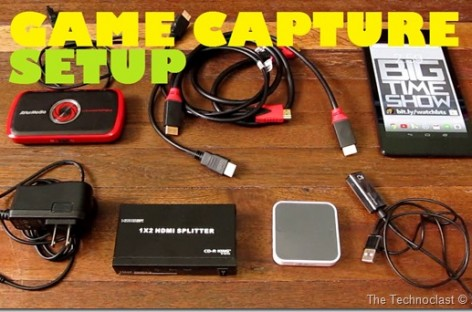 Game Capture Setup For Nexus 7 2013 / PS3 / PS4 & HDCP Sources (With AverMedia LGP)