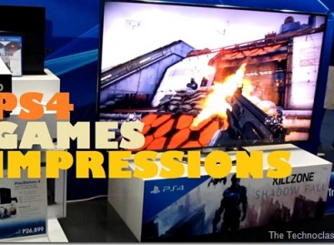 Sony PS4 Games Impressions–Killzone, NBA 2K14, Knack, Assassins Creed, & Dancing~