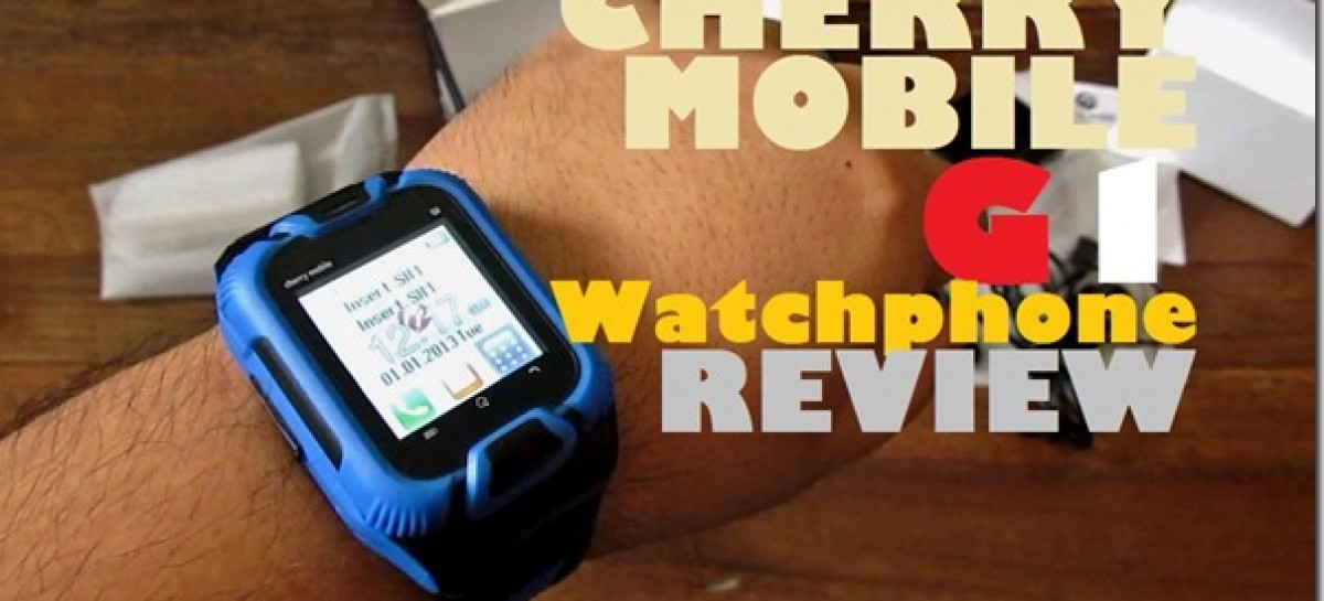 Cherry Mobile G1 Watchphone Review–Wrist Phone With Free Bluetooth Headset For P1.7k