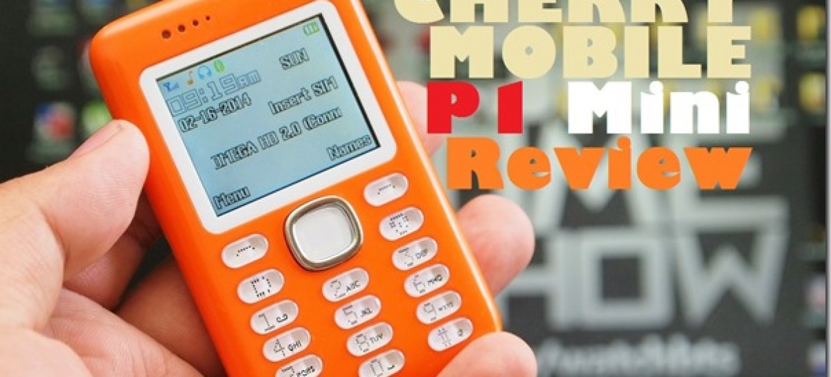 Cherry Mobile P1 Mini Review–Phone With Smartphone Dialer & Texter Feature For P799