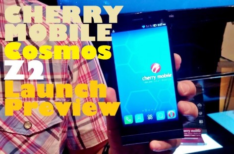 Cherry Mobile Cosmos Z2 Launch Preview–Octa-Core FullHD With 18MP For PHP 12,999