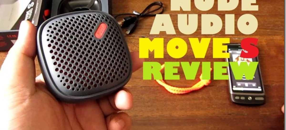 Nude Audio Move S Review–Rugged Portable Bluetooth Speaker With 8H Battery For P2k