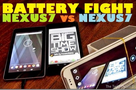 Battery Fight! Nexus 7 2012 vs Nexus 7 2013–The Best Tablet Battery Life, Bar None