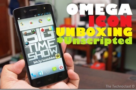 Cherry Mobile Omega Icon Unboxing–Quad-Core & Dragon Trail For P6.5k (Unscripted)