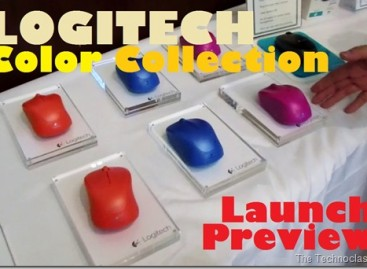 Logitech Color Collection 2014 Launched–New Season's Wireless Mouse & Keyboards